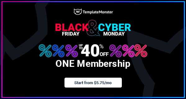 TemplateMonster Black Friday Deals 2020