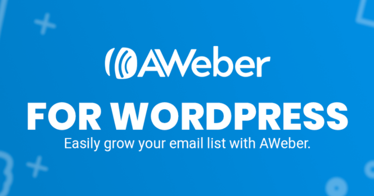 Aweber: Avail 60% OFF On All Plans