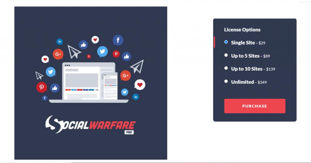 Social Warfare Black Friday Deal 2020
