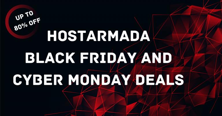 HostArmada Black Friday Deals 2020   80% OFF + Free Domain