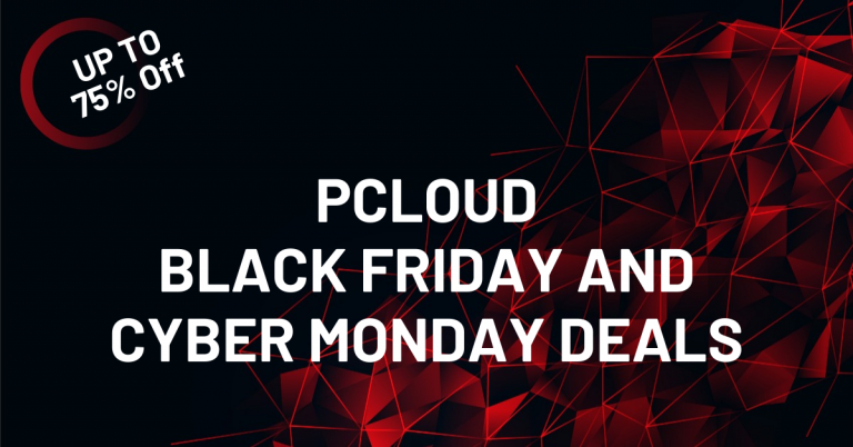 PCloud Black Friday Deal 2020