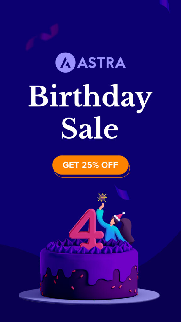 Astra Birthday Sale: 4th May, Discounts On Your Favorite Astra Products